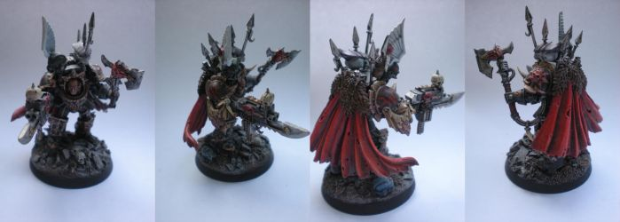 Chaos Terminator Lord by LoganGrimnar42