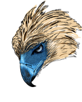 Philippine eagle for Tshirt by junver