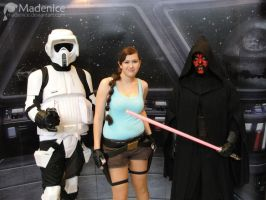 LC, Scout trooper, Darth Maul by Madenice