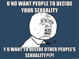 Y U NO - Sexuality by juanito316ss