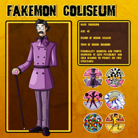 Fakemon Coliseum: Elite 4 No2 - Enigmund by MTC-Studios