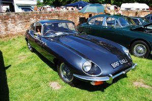 E-Type Jag by Prythen
