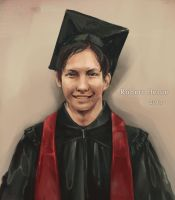Graduation Portrait for Robert by Nyanfood