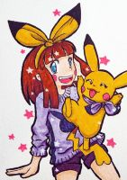 Pika Girl Contest Trainer by SilkenCat
