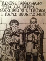 Reek, Ramsay and Roose by timburtongot