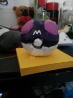 Master ball by wolf-star-studios