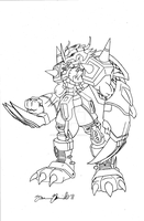 CHOU SHINKA - Wargreymon by neoarchangemon