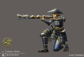 Ashigaru - Musket by dinmoney