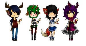 Kemonomimi Adopts Batch02 (closed) by Ruruca