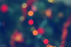 Christmas Bokeh by fiegga