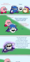 Kirby vs Meta Knight part 2 by Rainbow-Boa