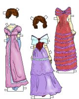 Betsy Jane Gown color by electricjesuscorpse