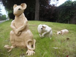 Clay Rats by LadyRoscoe