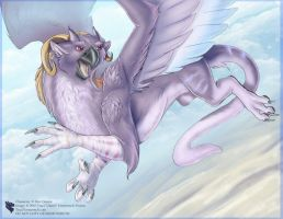Flying Purple People Eater by Ulario