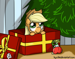 Late christmas by Kiyoshiii