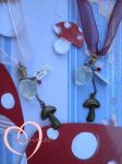 The mushroom of course- best friend necklaces by ilikeshiniesfakery