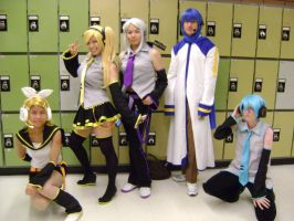 Vocaloid Group by LordBlumiere