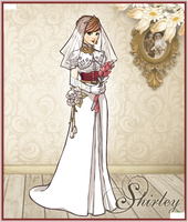 Shirley-The Royal Bride by Brandee-Ssj-Doll