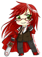 Chibi Grell Sutcliff by Requiem-for-Zachy