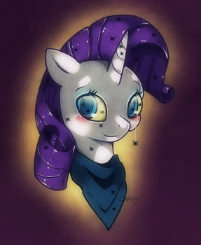 Rarity by cappydarn