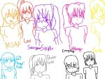 Faces That Kept Disappearing And Reappearing... by Mariosonicanimefan