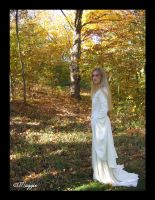 The White Wool Gown by ThreeRingCinema