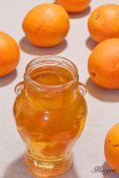 Orange jam by Morgaer