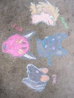 LAF Chalk Sketches 2 by Evelyn-Cross