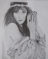 Florence Welch Drawing by Gabgab3010