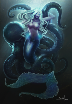 Mermaid by mousez
