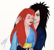 Madara likes Red hair by GirlofBluefire