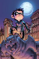 Lil' Nightwing by J-Skipper