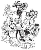 Teen Titans Zero Hour by BillWalko