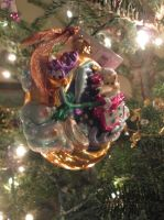 Wile E. Coyote and Road Runner ornament by renthegodofhumor
