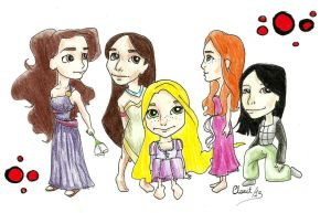 Little Princesses by Clarit