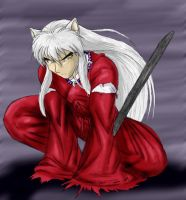 :InuYasha: by akitohedgehog