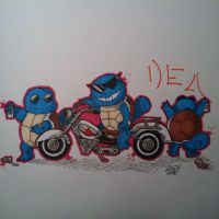 Squirtle squad by Ryu1216