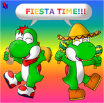 Fiesta Time by AwsmYoshi