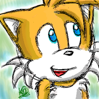 Tails Sketch - PaintBBS by kat-thefox