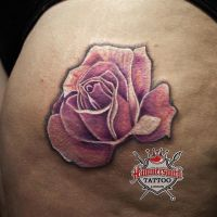 Sureno Tattoo Flower Realism Colour Rose Ink H by HammersmithTattoo