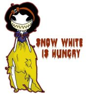 snow white is hungry by Yami-No