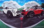 Mini Coopers in Love by ChalkTwins