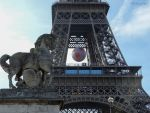 Gallic statue and Eiffel Tower by EUtouring