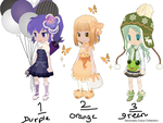 Secondary Colour Collection-FREE ADOPTABLES-CLOSED by J-doptables