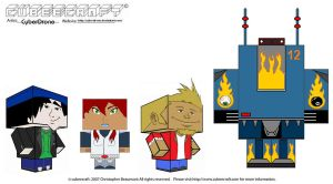 Cubeecraft-MEGAS XLR by CyberDrone