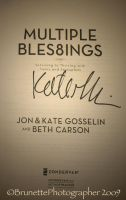 Kate Gosselin's Signature by brunettephotographer