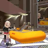 MMD Special Edition Zodiac Rescue Boat by Trackdancer