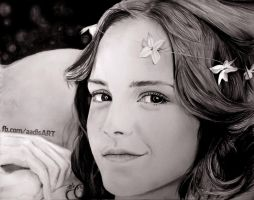 Road to Realism : Emma Watson by Iza-nagi
