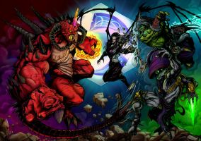 Heroes of the Storm by GleBik