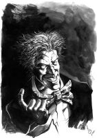 Another Joker Sketch by quahkm